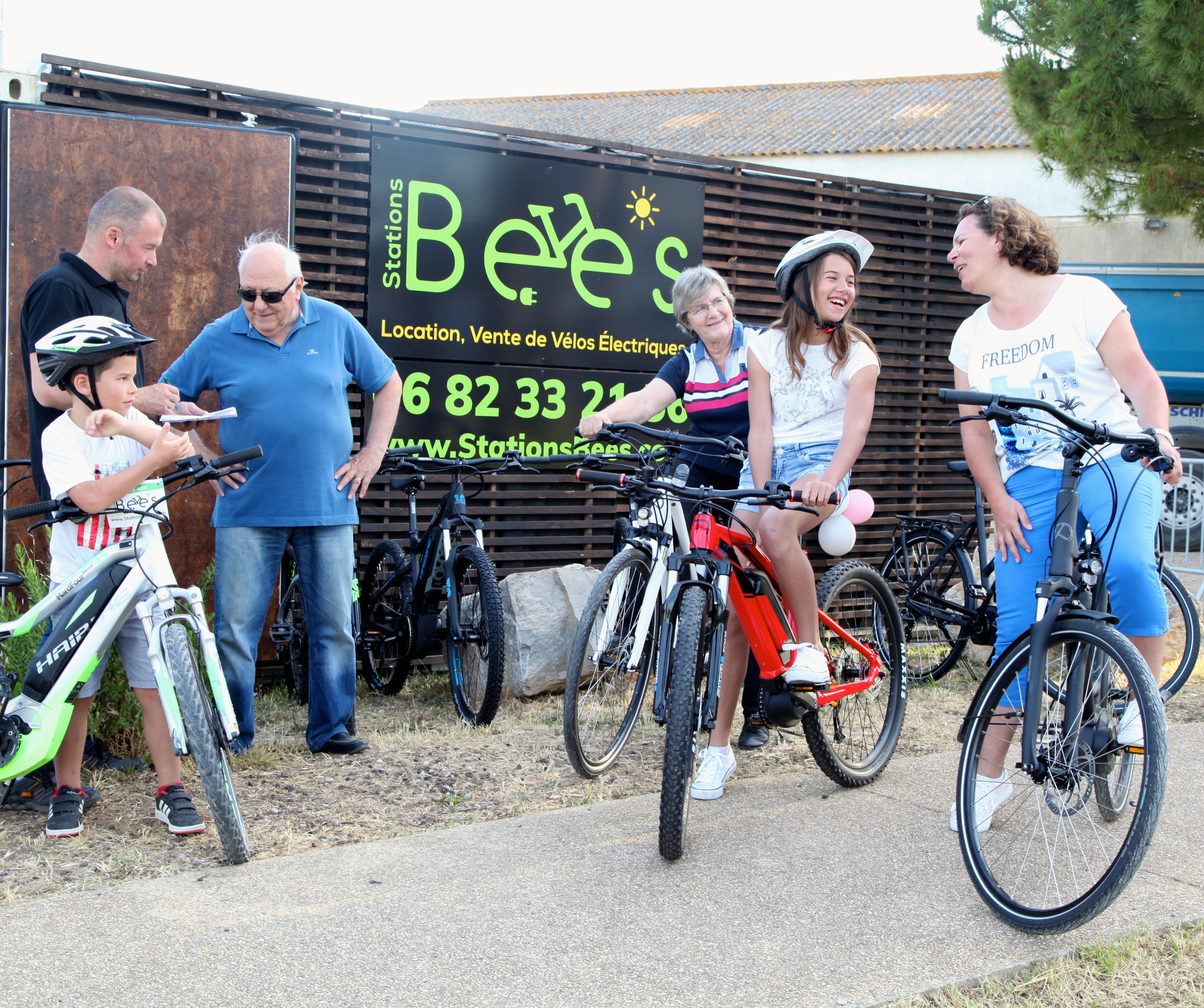 statiosn bee's pérols location vente velo electrique